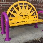 Custom Metal Benches for Parks, Sports Teams, and More!